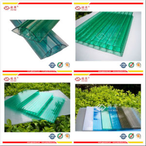 UV Coated Crystal Polycarbonate Hollow Sheet/UV Blocking Transparent Polycarbonate Sheet pictures & photos