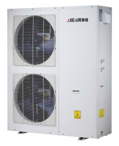 Low Temperature Heat Pump for Heating House