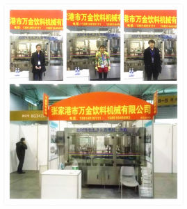 High Quality Rotary Type Wine Filling Machine pictures & photos