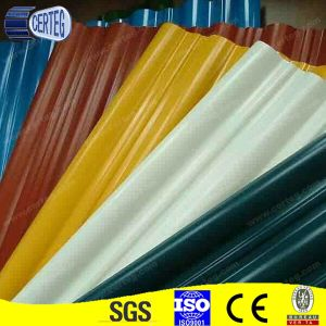 Color Coated Tile Efffect Corrugated Roofing Metal Steel Sheets pictures & photos