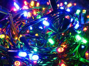 Colorful Holiday LED Christmas Decoration Light for Outdoor Using