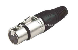 Audio Connector XLR for Microphone Cable pictures & photos