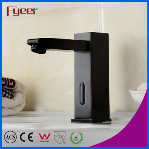 Oil Rubber Bathroom Basin Infrared Automatic Sensor Faucet pictures & photos