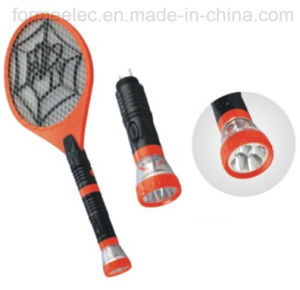 Rechargeable Electric Mosquito Swatter C088s with LED Torch pictures & photos