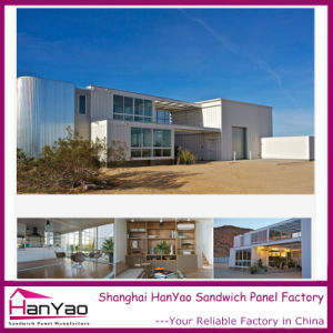2015 Factory Supply Steel Structure Luxury Prefab House Container pictures & photos