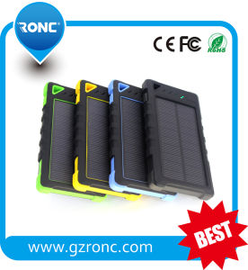 High Capacity Portable 8000mAh Solar Power Bank pictures & photos