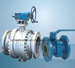 Flanged Three Way Ball Valve pictures & photos