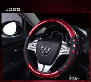 Beautiful Leather Auto Steering Wheel Cover
