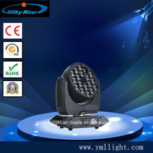 Zoom RGBW 10W Rotating LED Moving Head 4 in 1 Light pictures & photos