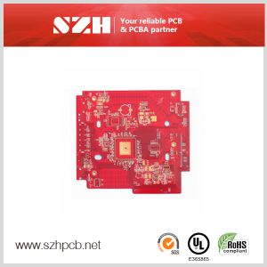 Red Color Enig PCB 4 Layer PCB Manufacturer PCB Assembly pictures & photos
