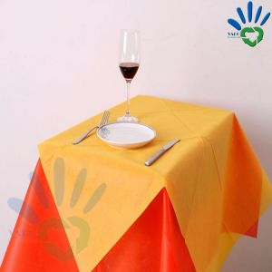 China Eco Friendly Pp Spunbond Nonwoven Tablecloth Non Toxic Non