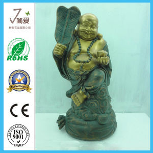 Polyresin Maitreya Figurine, Resin Buddha Statue for Decoration pictures & photos