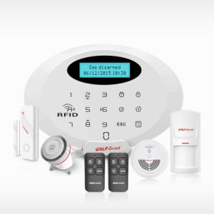 Best 2016 Newest Security Alarm System WiFi/GPRS/GSM Smart Home Alarm with Android /Ios APP Control pictures & photos