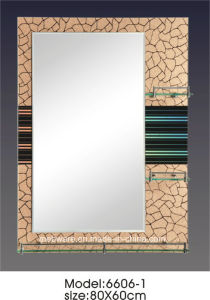 Modern Sliver Glass Mirror