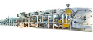 100 Meter/Min Disposable Adult Diaper Production Line pictures & photos
