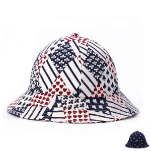 Fashion Poker Printed Cotton Twill Sun Visor Bucket Hat (YKY3214) pictures & photos