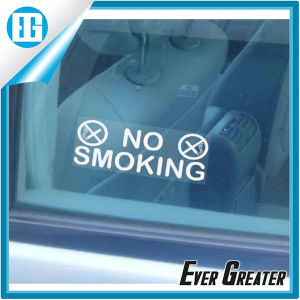 PVC No Smoking Warning Decal Car Window Sticker pictures & photos