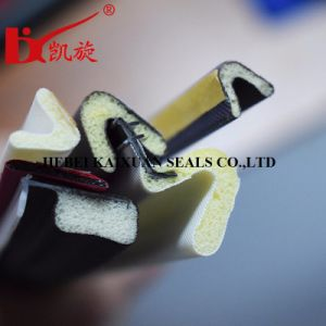 PU Foam Sponge Weather Seal Strip Door Rubber Seal pictures & photos