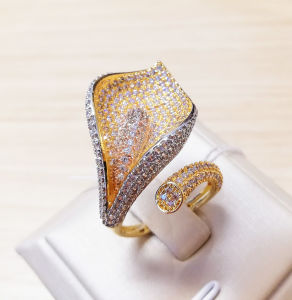 China Fashion Dubai Gold Plated jewellery Wholesale Latest Ring - China  Ring Jewelry and Wholesale Ring price
