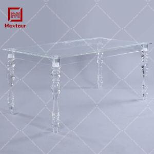 China Custom Clear Ghost Wedding Furniture Bride And Groom Acrylic