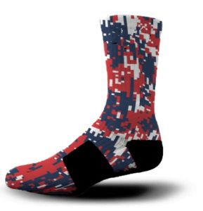 9a96e348d47 China OEM Wholesale Basketball Custom Athletic Socks - China Dress ...
