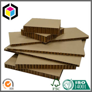Two Side Brown White Honeycomb Panel Board Sheet
