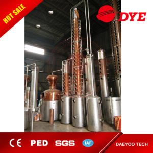 Whiskey, Vodka, Brandy Distiller Copper Alcohol Distilling Equipment for Sale