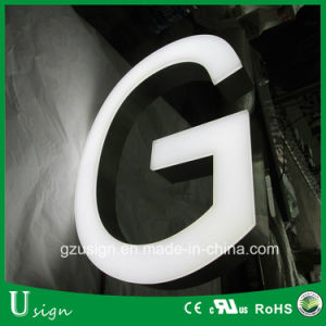 High Quality LED Front Lit Large Letter Signs/Store Front Decoration Light up