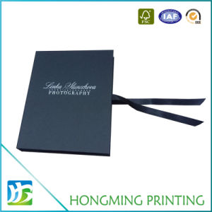 Luxury Sliver Logo Presentation Cardboard Boxes pictures & photos