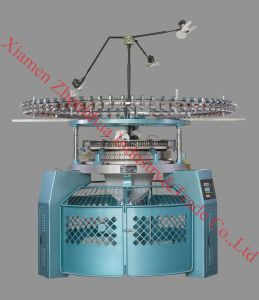 High Speed Single Jersey Three Thread Fleece Circular Knitting Machine pictures & photos