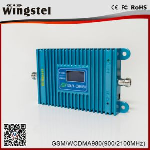 2017 Hot Sale Dual Band 900/2100MHz 2G 3G 4G Mobile Signal Repeater pictures & photos