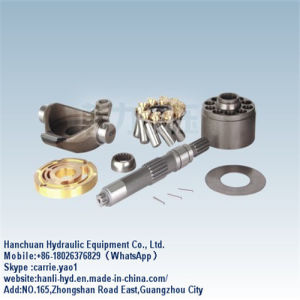 Guangzhou Hydraulic Stainless Steel Pump Spare Parts for Excavator (MKV23/33)