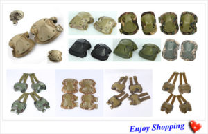 11 Colors Sports Airsoft Tactical Military Protective Elbow Knees Pads pictures & photos
