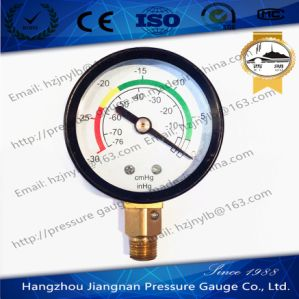 50mm 2′′ Vacuum Pressure Gauge with Universal Connection pictures & photos