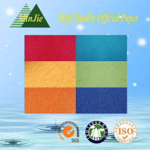 160GSM Colourful Embossing Leather Grain Paper