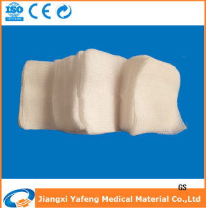 Non-Sterile Disposable Absorbent Cotton Gauze Swabs pictures & photos