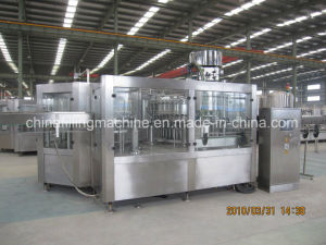High Quality Carbonated Drink Filling and Sealing Machine pictures & photos