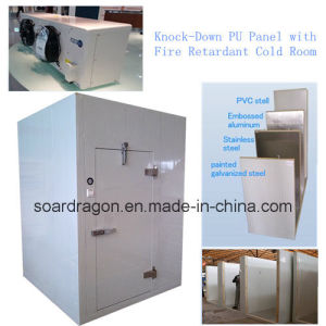 Knock-Down PU Panel with Fire Retardant Cold Room pictures & photos