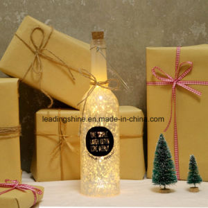 China Perfect Christmas Gifts Starlight Bottle Glass Light up ...
