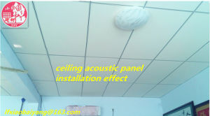 Soundproof Cloth Fabric Acoustic Panel Wall Panel Ceiling Panel for Waiting Room Decoration Panel pictures & photos