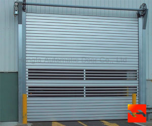 Impact Resistance Automatic Metal Rolling up Door pictures & photos