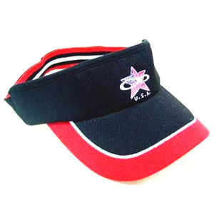 Elastic Band Visor Cap (JRV071) pictures & photos