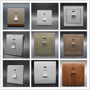 Home Appliance One Gang Dust-Proof 20A Wall Switch pictures & photos