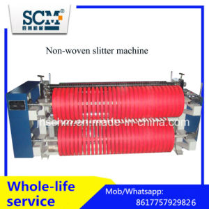 0.5mm Non Woven fabric Slitting Machine