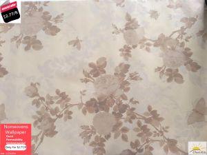Promotion Decoration PVC Wallpaper 0.53*10m for Commercial