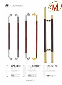Stainless Steel Door Handles Surface Plating Color pictures & photos