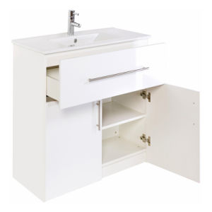 Pvc Covered Bathroom Cabinet