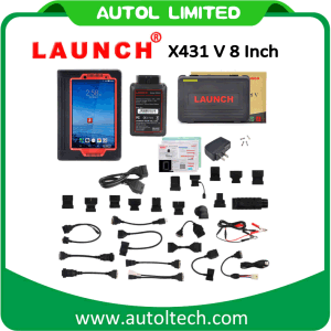 Original Launch X431 V 8 Inch Scanner 2 Years Free Update Via Official Website X-431 V WiFi/Bluetooth Car Diagnostic Tool pictures & photos