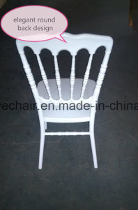 Wholesale Resin Napoleon Chair Plastic Wedding Furniture pictures & photos