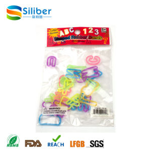 Popular Rubber and Promotional Customized Silicone Rubber Band with Good Elasticity